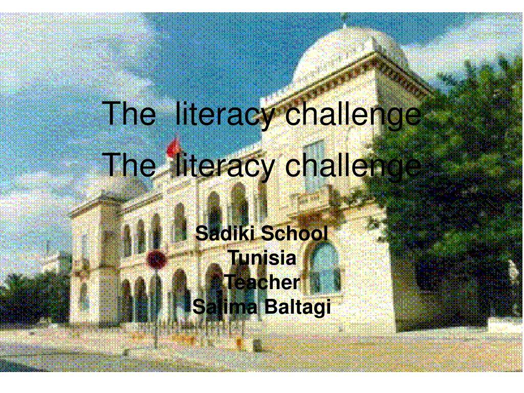 the literacy challenge l.