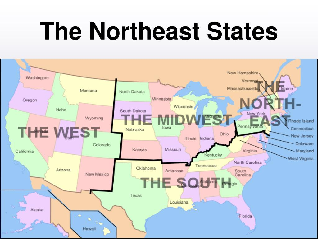 Ppt The Northeast States Powerpoint Presentation Free Download Id 452578