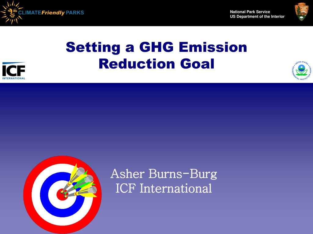 Setting a GHG Emission Reduction Goal