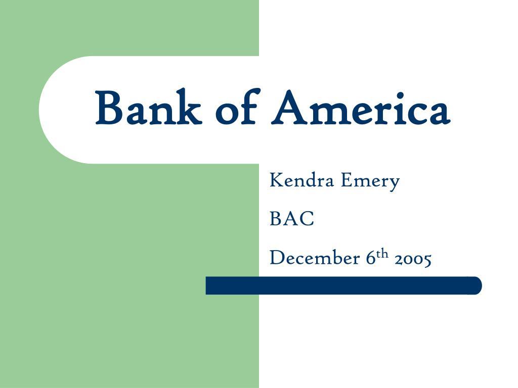 bank of america l.