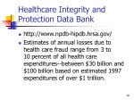 healthcare integrity and protection data bank18