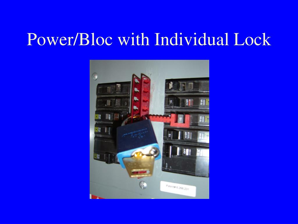 Power/Bloc with Individual Lock