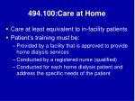 494 100 care at home