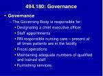 494 180 governance
