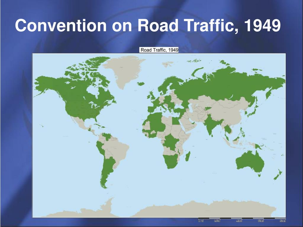 Convention on Road Traffic, 1949