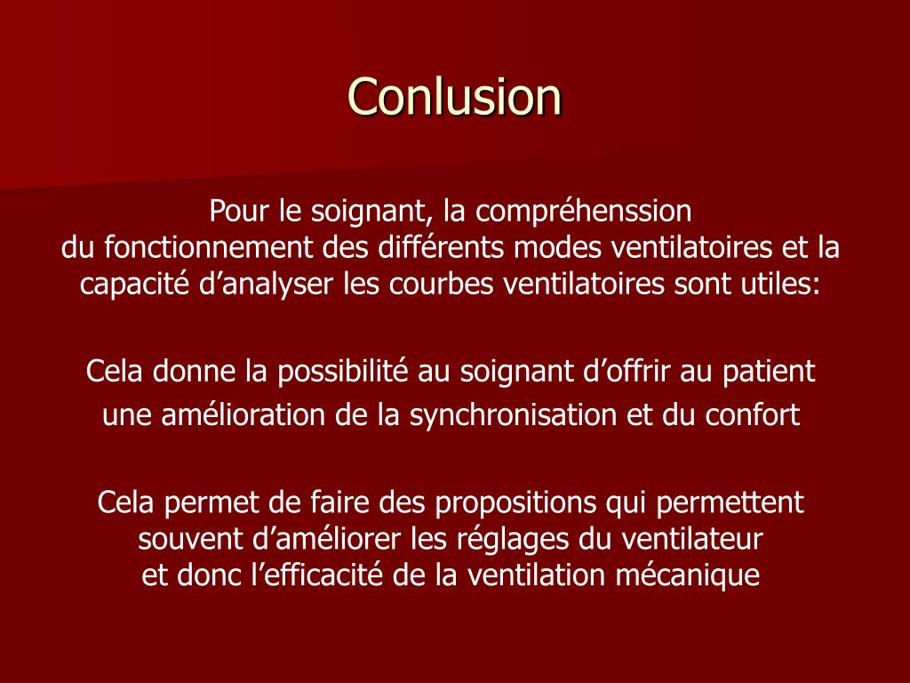 Conlusion
