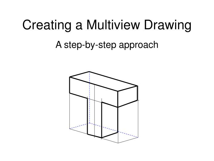 creating a multiview drawing n.