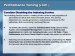 performance tuning cont16