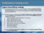 performance tuning cont17