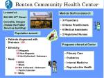 benton community health center