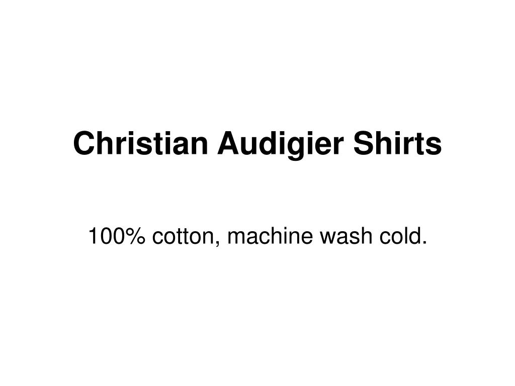 christian audigier shirts l.