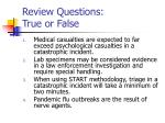 review questions true or false