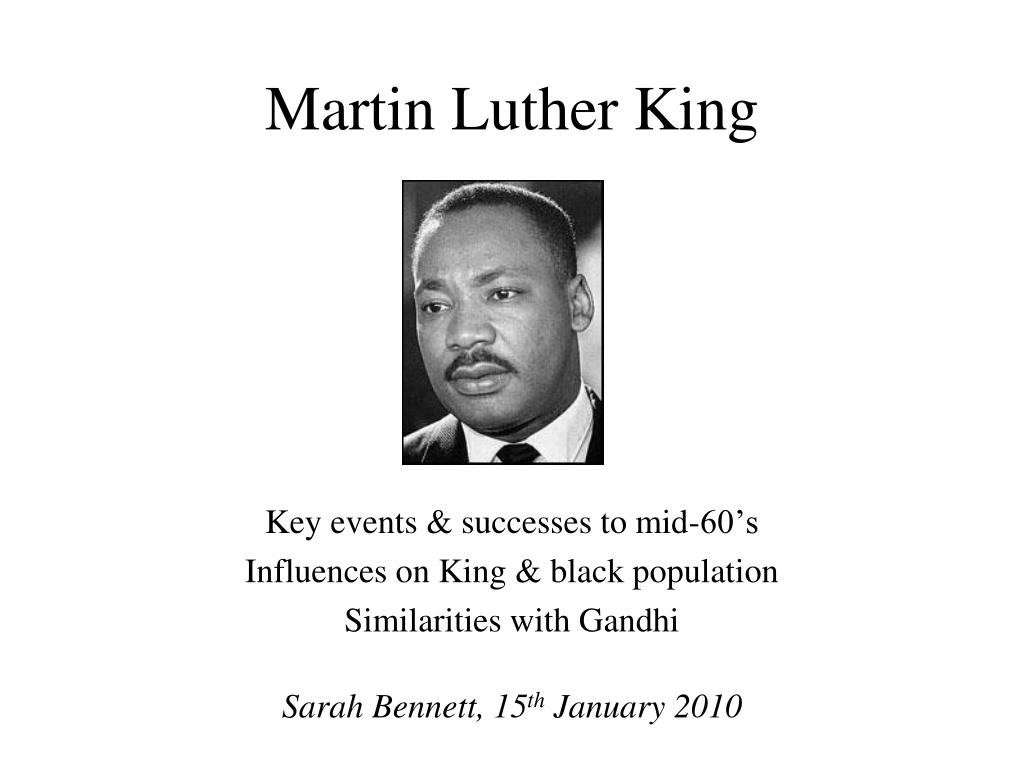 martin luther king l.