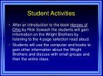 student activities