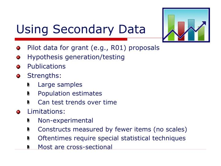Using secondary data