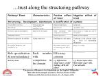 trust along the structuring pathway17