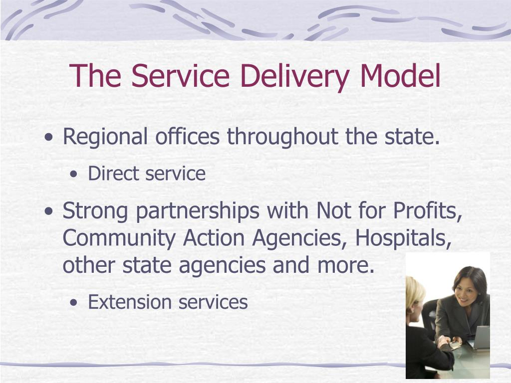 The Service Delivery Model