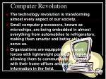 computer revolution