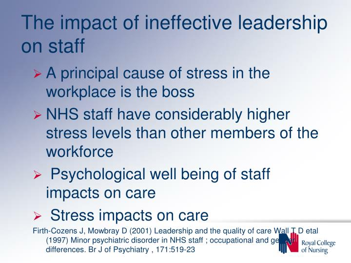 the impact of leadership styles Leadership style impacts the organization by affecting employee morale, productivity, decision-making speed, and metrics successful leaders carefully analyze problems, assess the skill level of subordinates, consider alternatives, and make an informed choice by choosing the most appropriate.