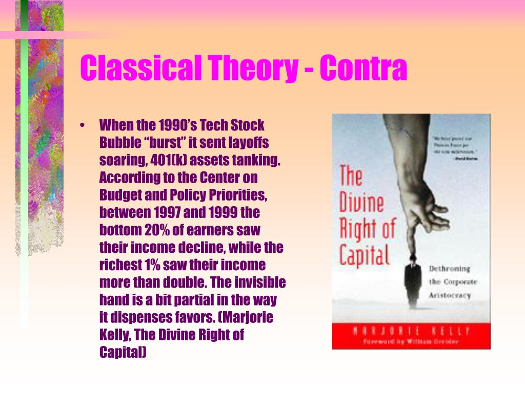 Classical Theory - Contra