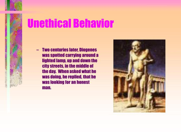 Unethical behavior3