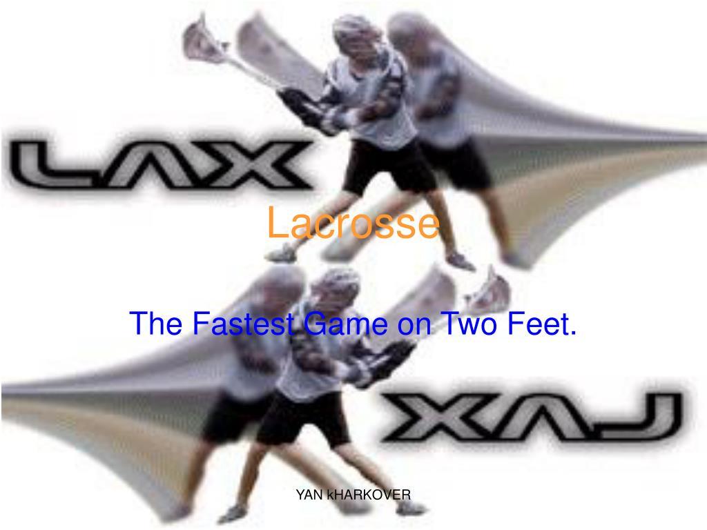 lacrosse l.