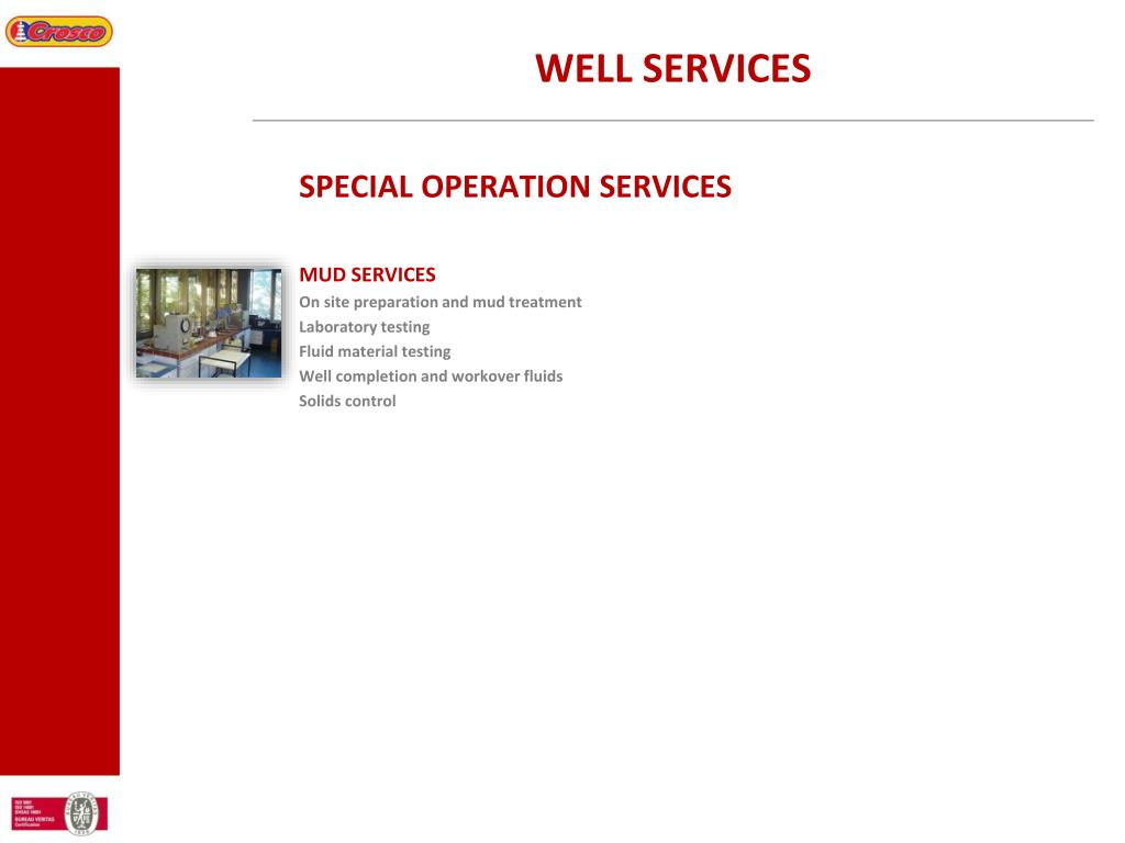 WELL SERVICES