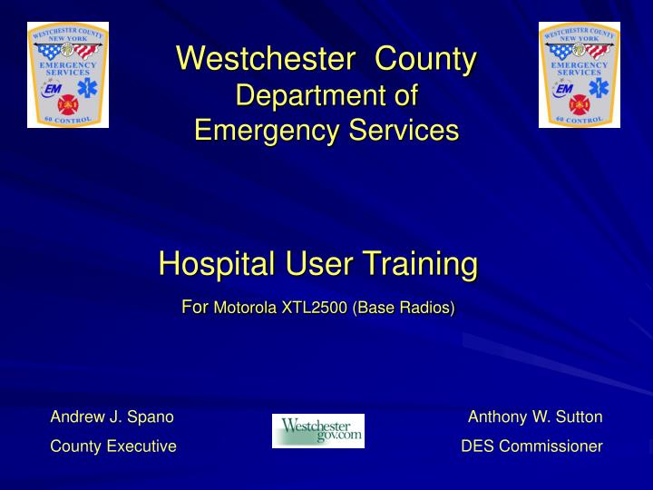 westchester county department of emergency services n.
