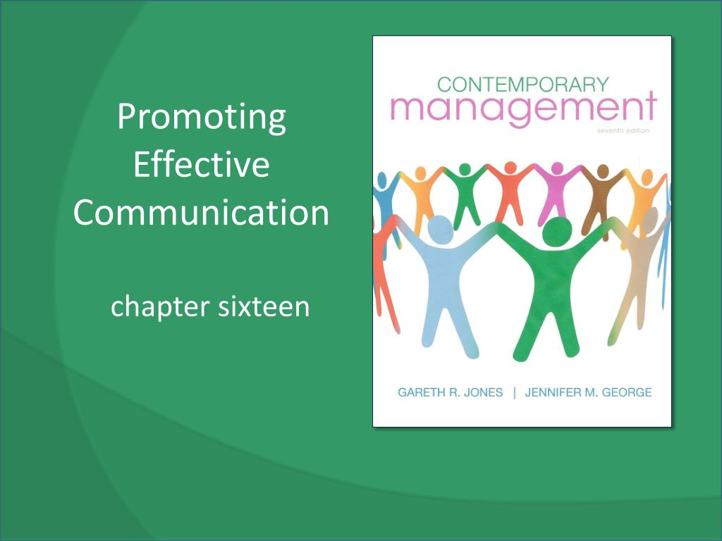 promoting communication Get an answer for 'describe the factors to consider when promoting effective communication' and find homework help for other health questions at enotes.