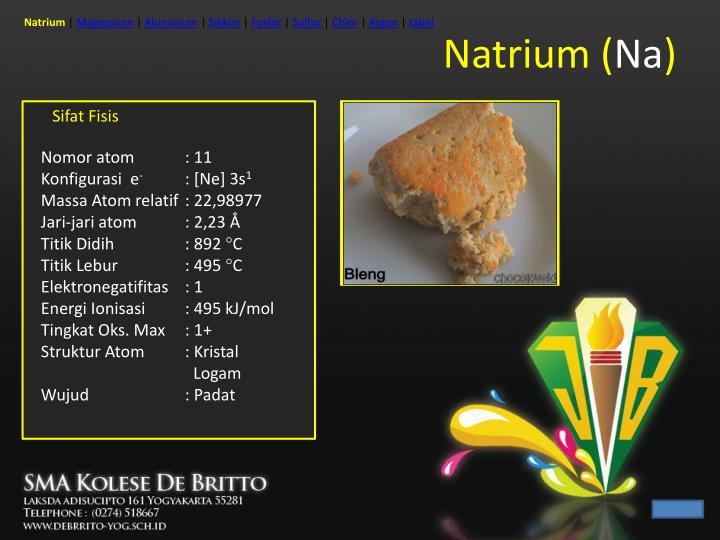 Natrium na