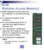 ram random access memory