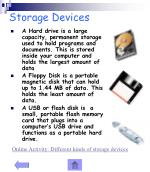 storage devices14