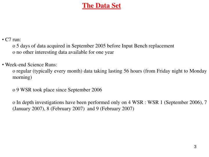 The Data Set