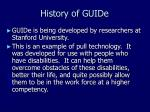 history of guide