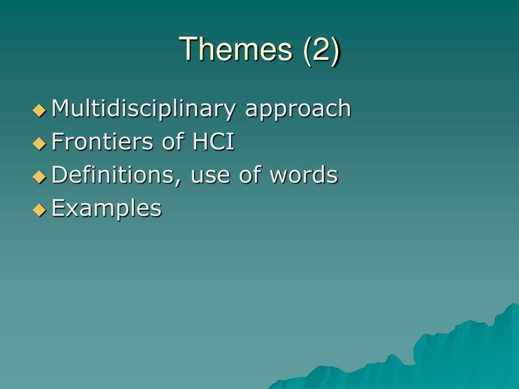 Themes (2)