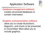 application software63