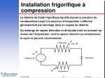 installation frigorifique compression10