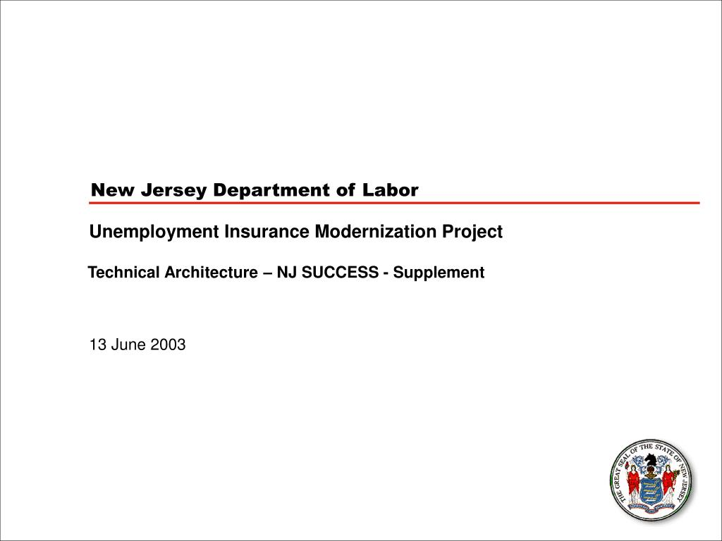 New Jersey Department of Labor