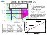 virgo performances 2 2