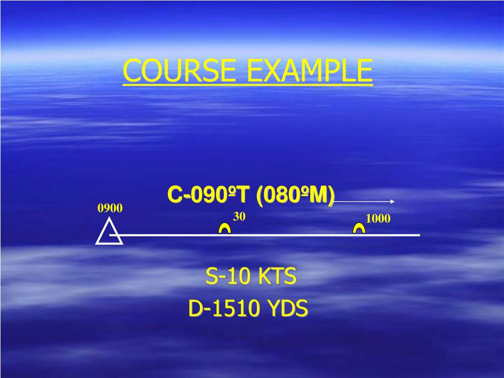 COURSE EXAMPLE