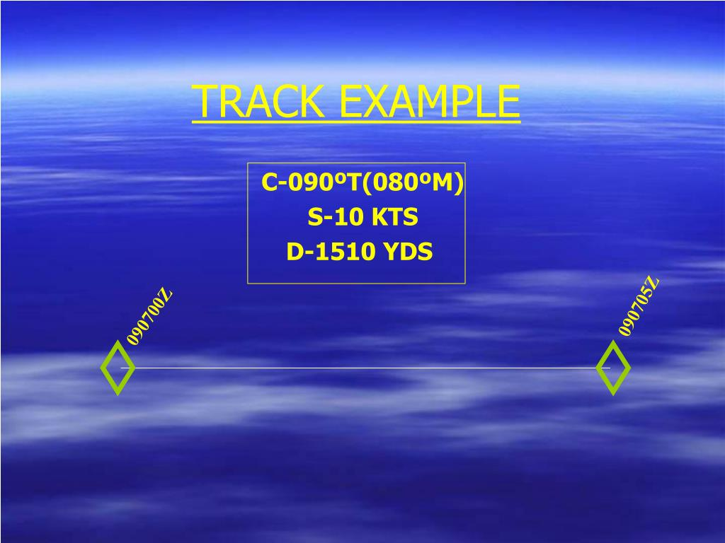 TRACK EXAMPLE