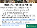 books vs periodical articles16