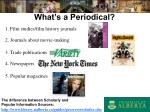 what s a periodical