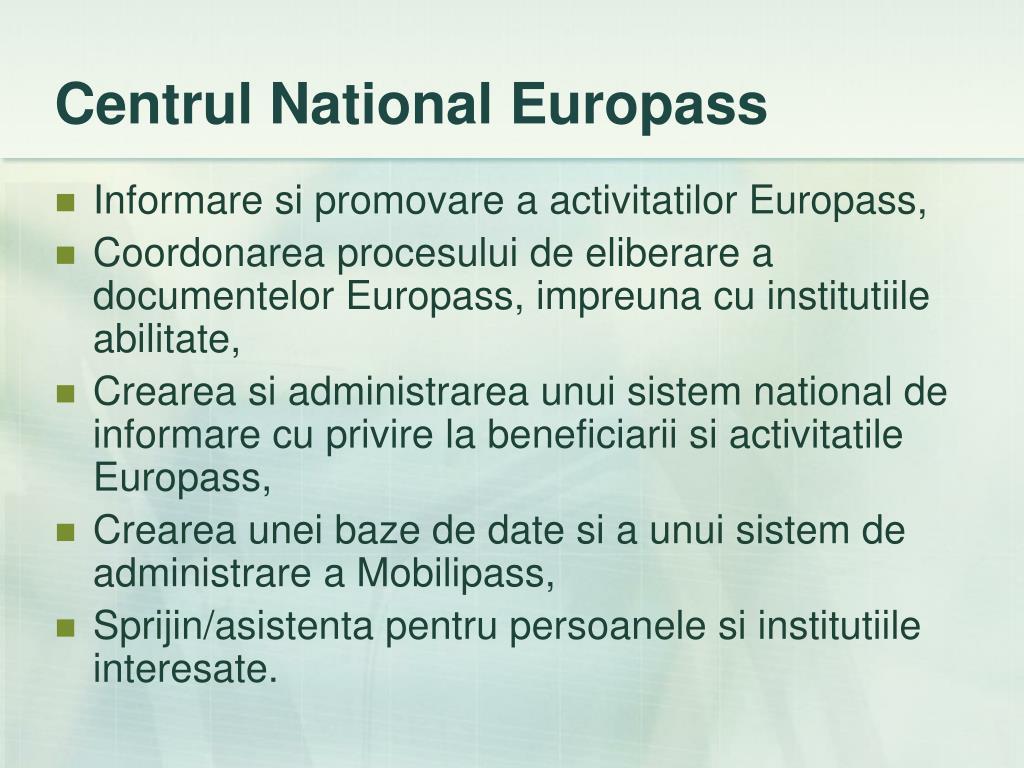 Centrul National Europass