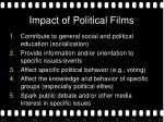 impact of political films