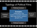 typology of political films16