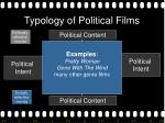 typology of political films17