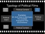 typology of political films18