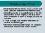 disaster conventions