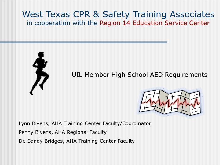 West Texas CPR & Safety Training Associates